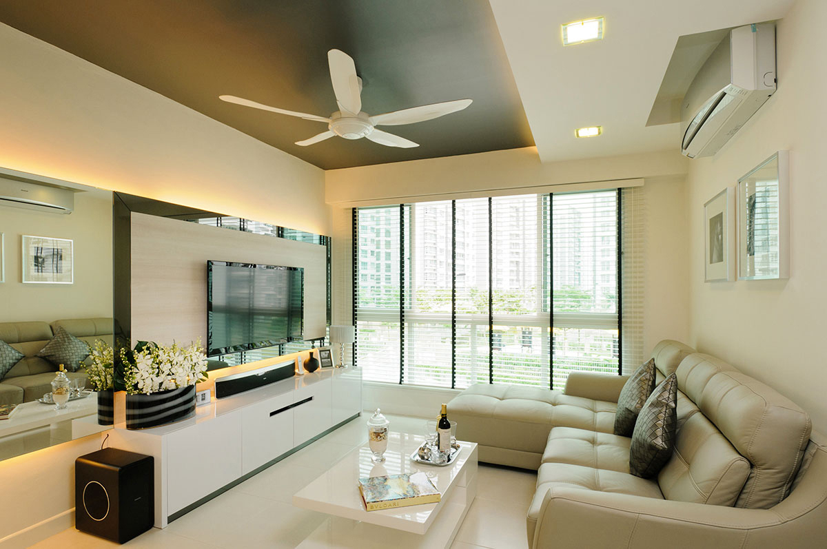 Punggol field block 268a icon interior for Interior designs singapore